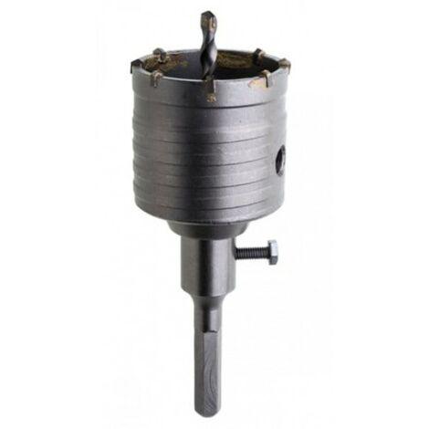 Mèche avec widia et adaptateur hexagonal de 65 mm
