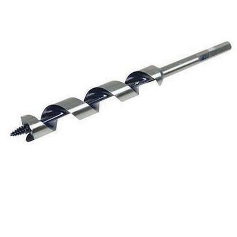 Mèche charpente hélicoïdale en acier D. 16 x 450 mm - 583239 - Silverline