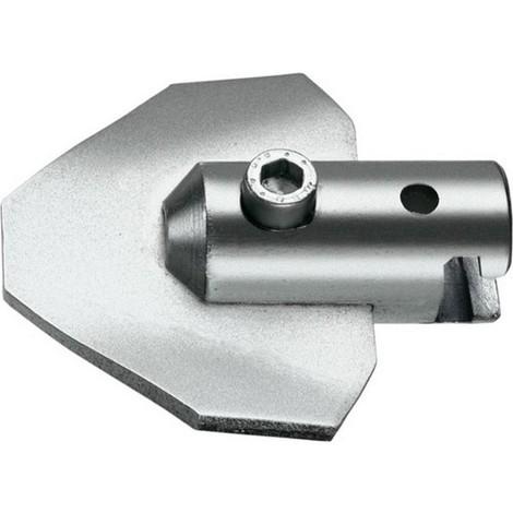 Mèche plate triangulaire, &Oslash de tuyau : 100-150 mm, &Oslash du foret 65 mm, Long. 65 mm, Prise femelle : 22 mm