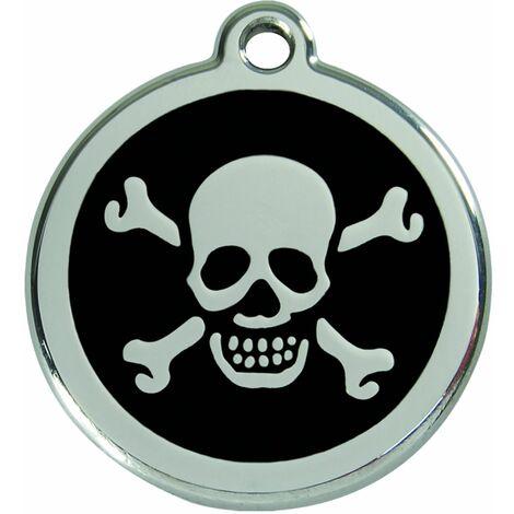 """Médaille Red Dingo noire """"Pirate"""""""