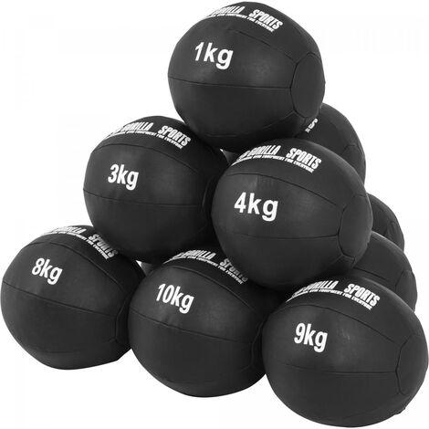 """main image of """"Médecine Ball Gorilla Sports Cuir Synthétique de 1kg à 10kg"""""""