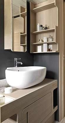 Rénovation d'une petite salle de bains d'un studio en location