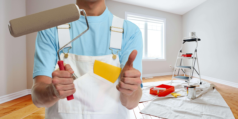 Come preparare un lavoro di pittura di pareti e soffitti