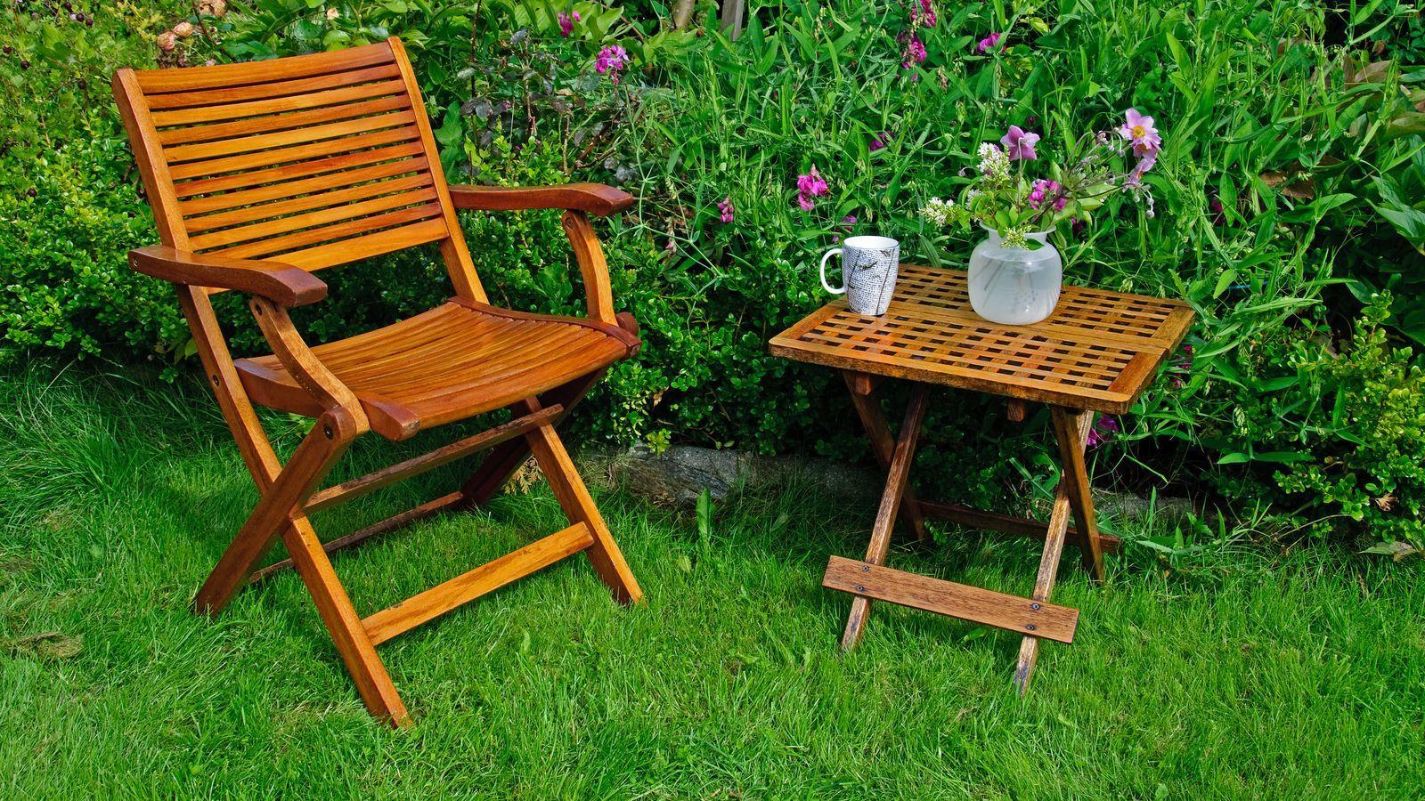 Chaise de jardin  : comment choisir