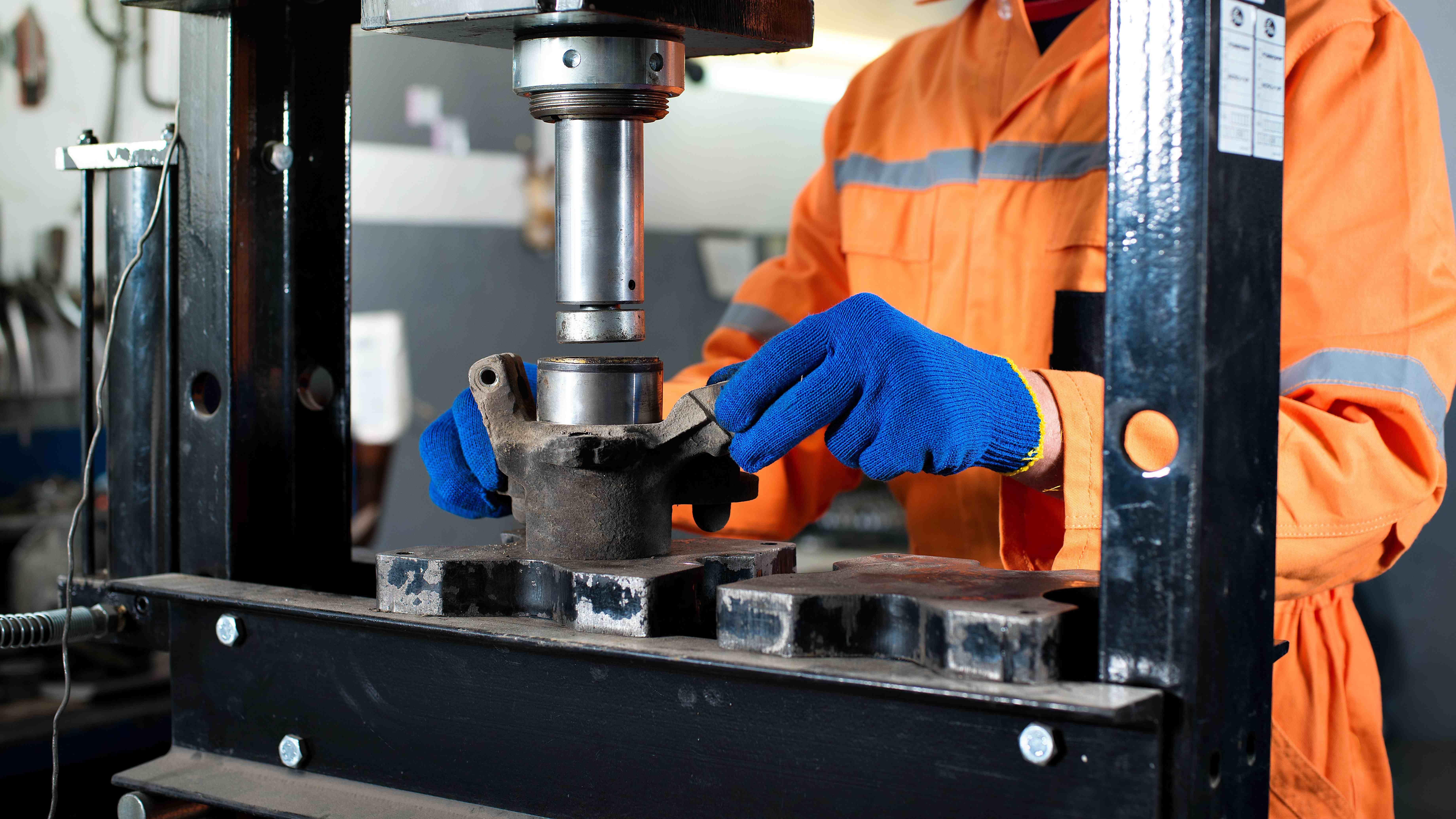 Hydraulic workshop press  buying guide