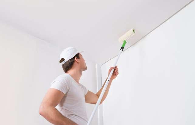 ¿Cómo elegir pintura para paredes y techos?