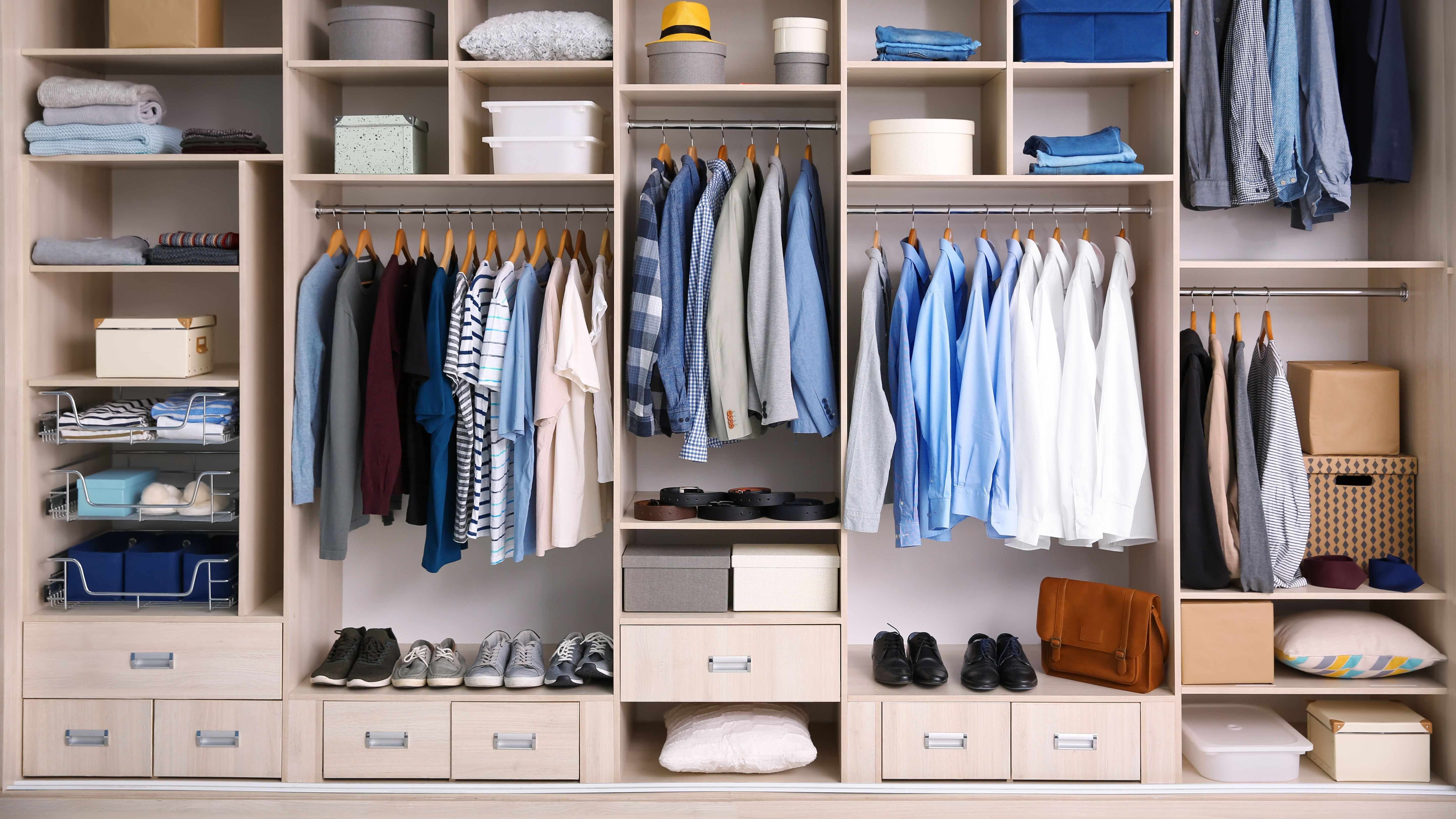 How to create a walk-in wardrobe on a budget