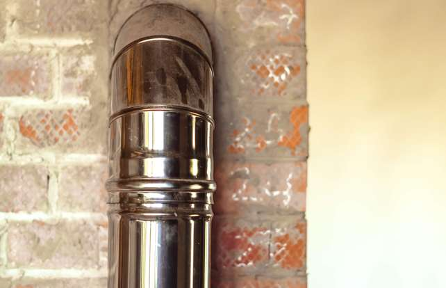 Cómo elegir tubos de evacuación de humos para estufas o chimeneas