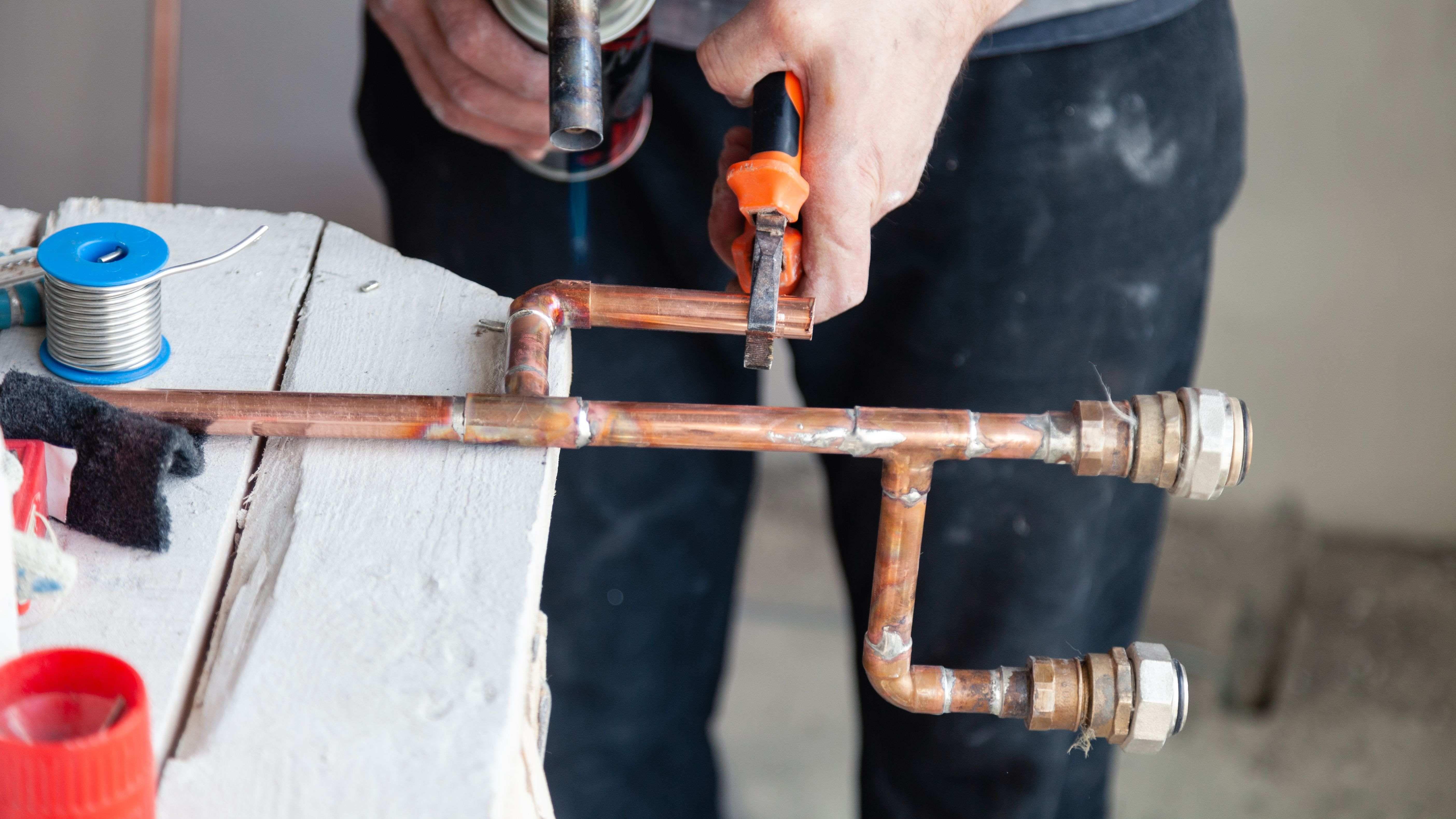 Comment faire une installation en cuivre