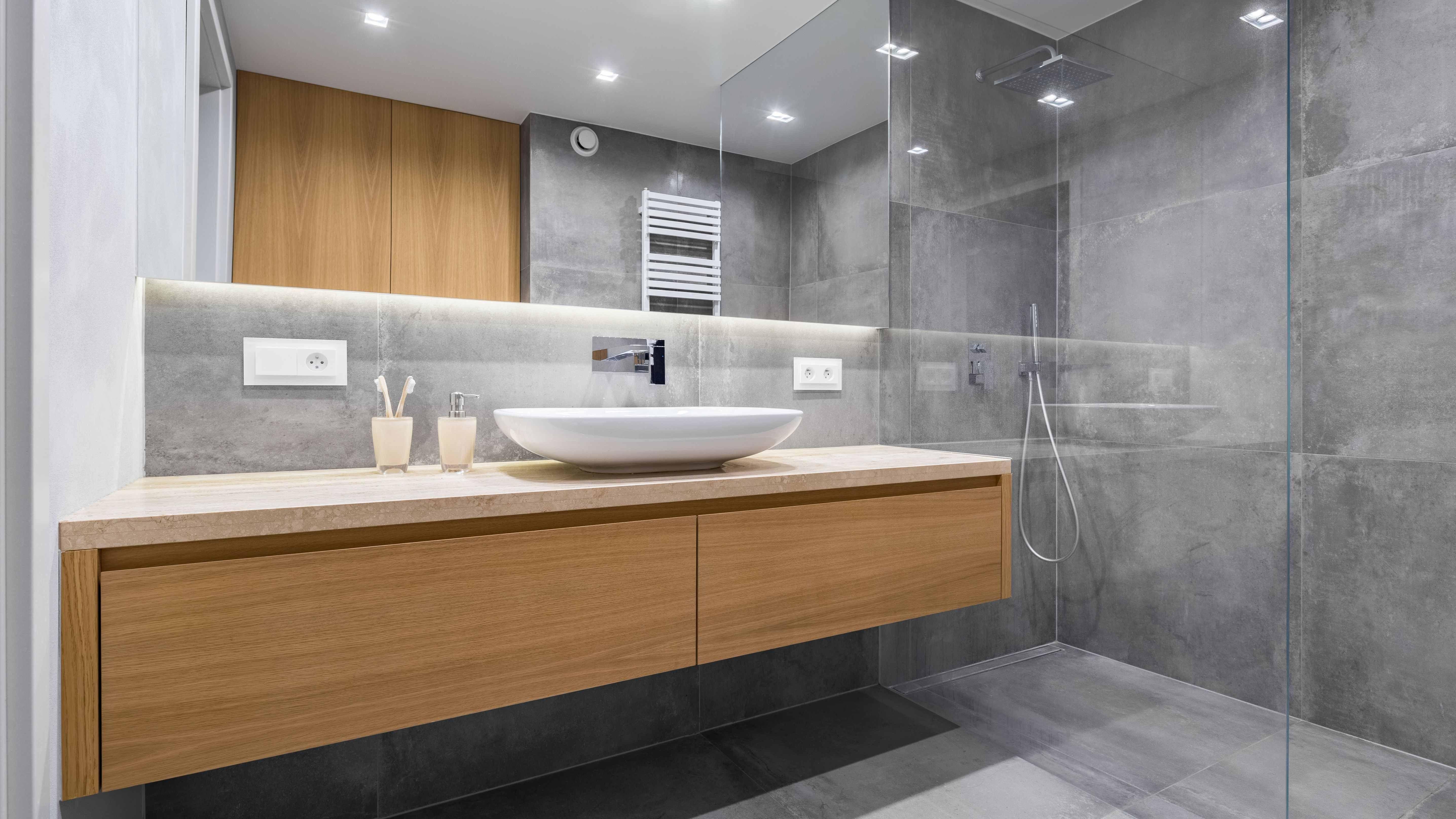 Salle de bains design :  moderne et fonctionnelle