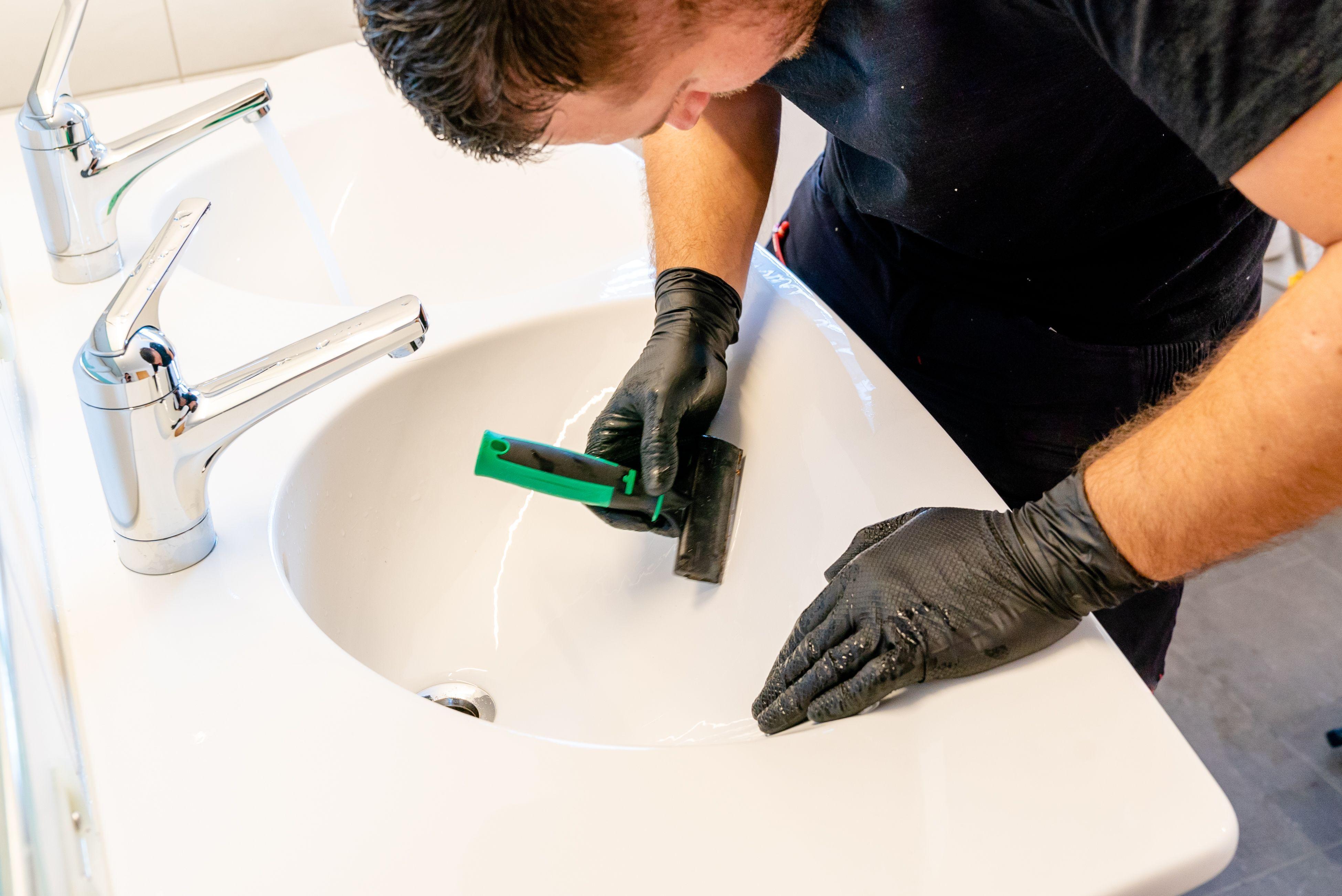 Comment réparer un évier fissuré