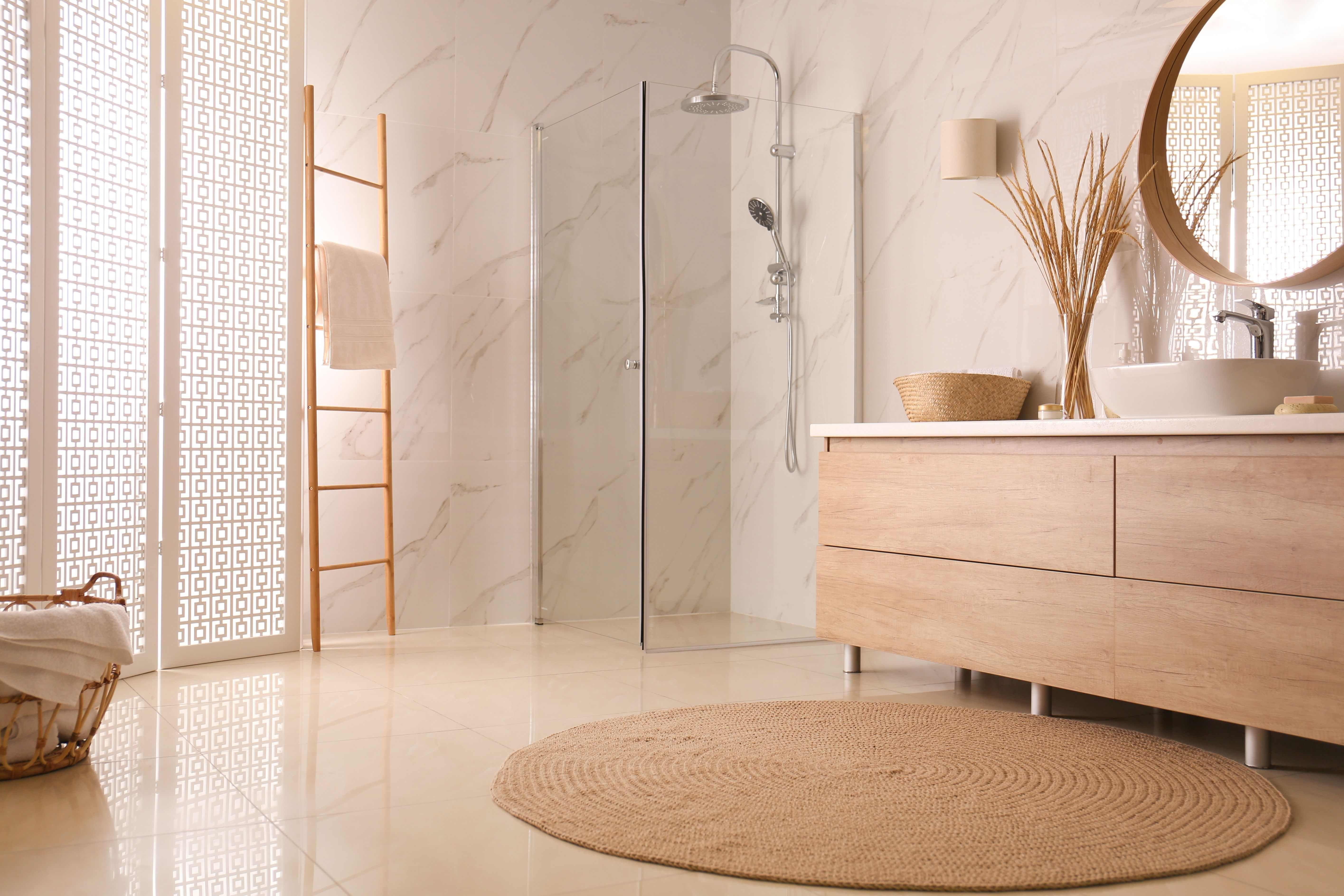 Salles de bains :  styles et tendances