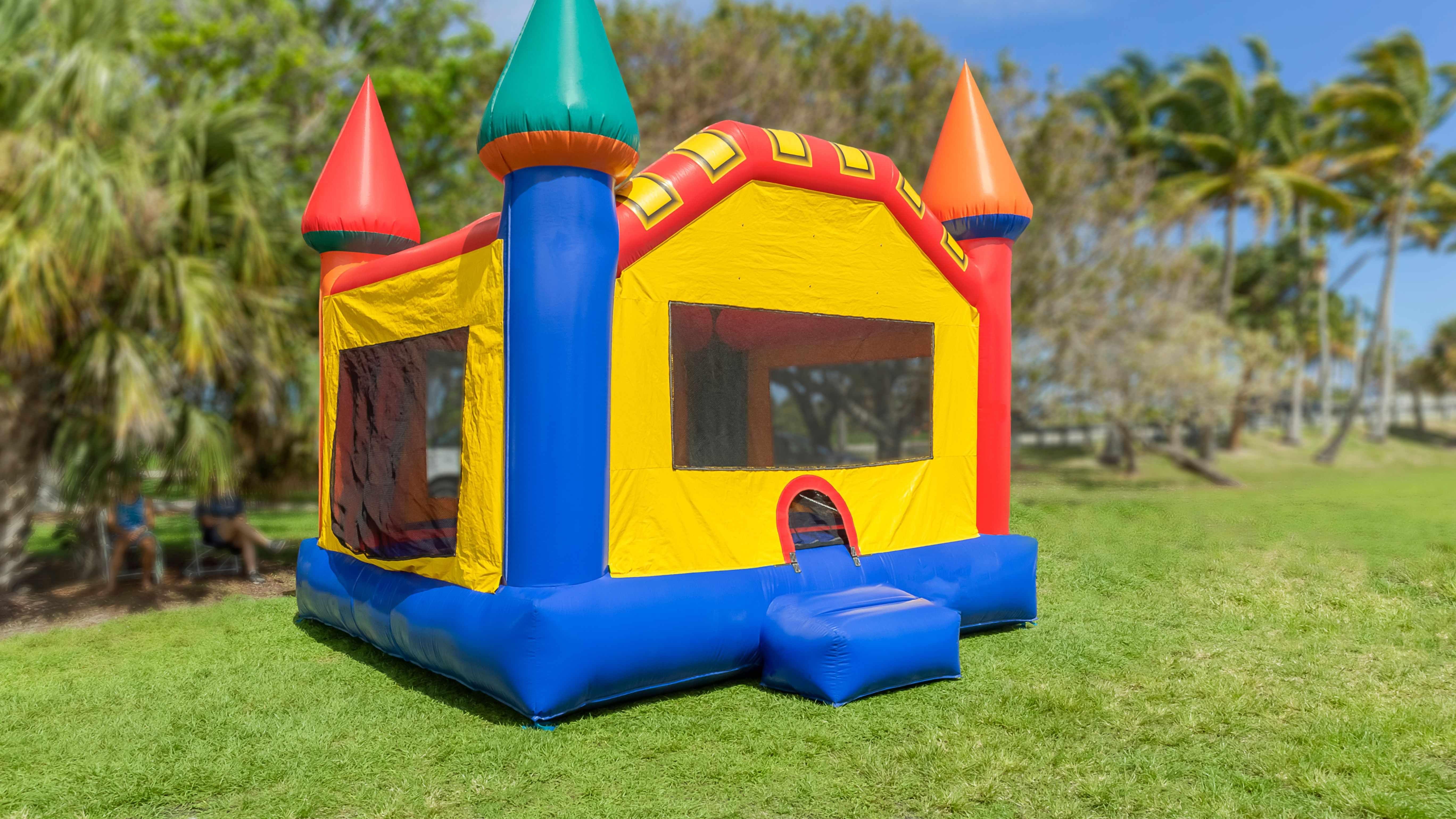 Comment choisir  un château gonflable
