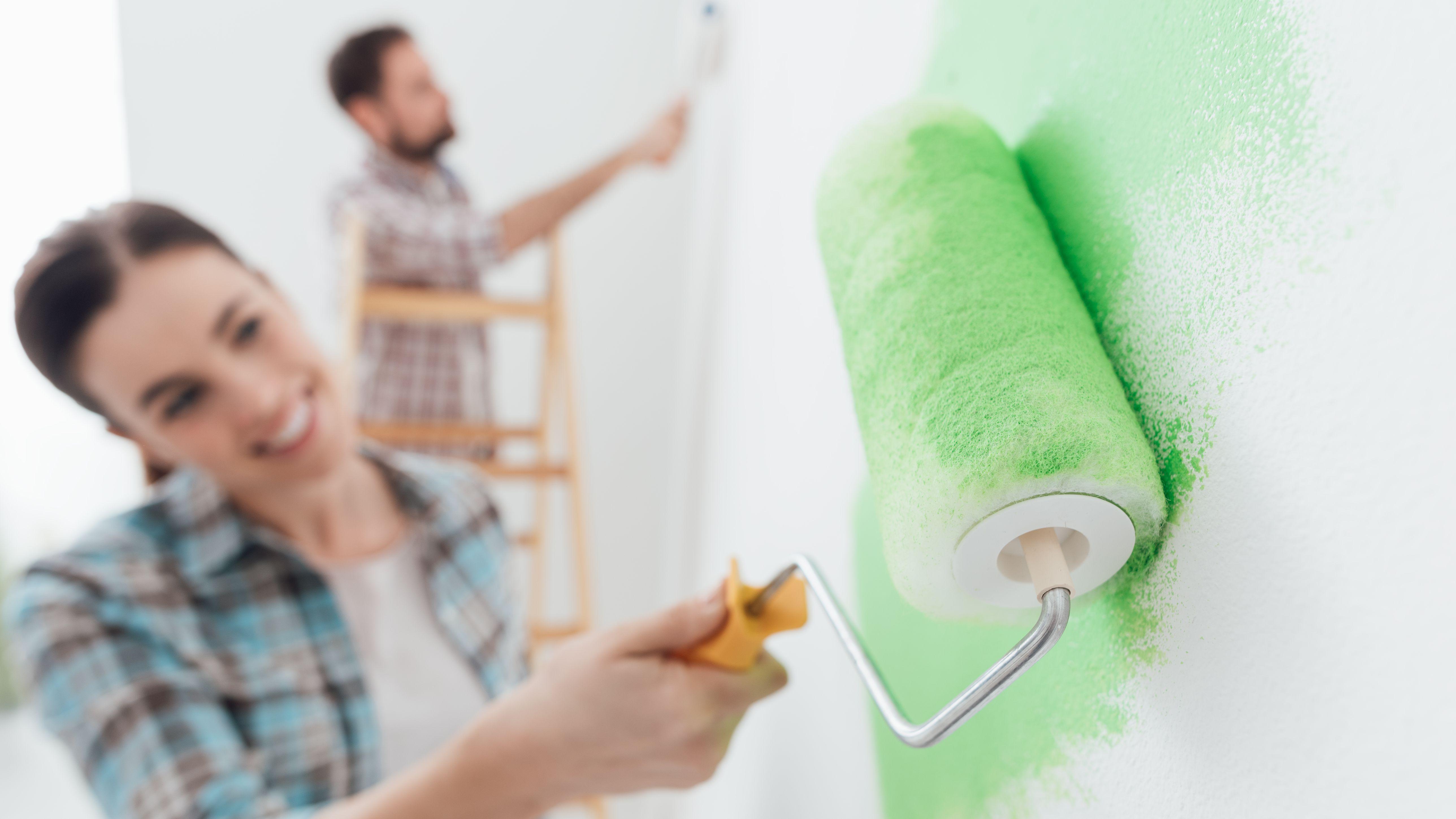 ¿Cómo pintar una pared?