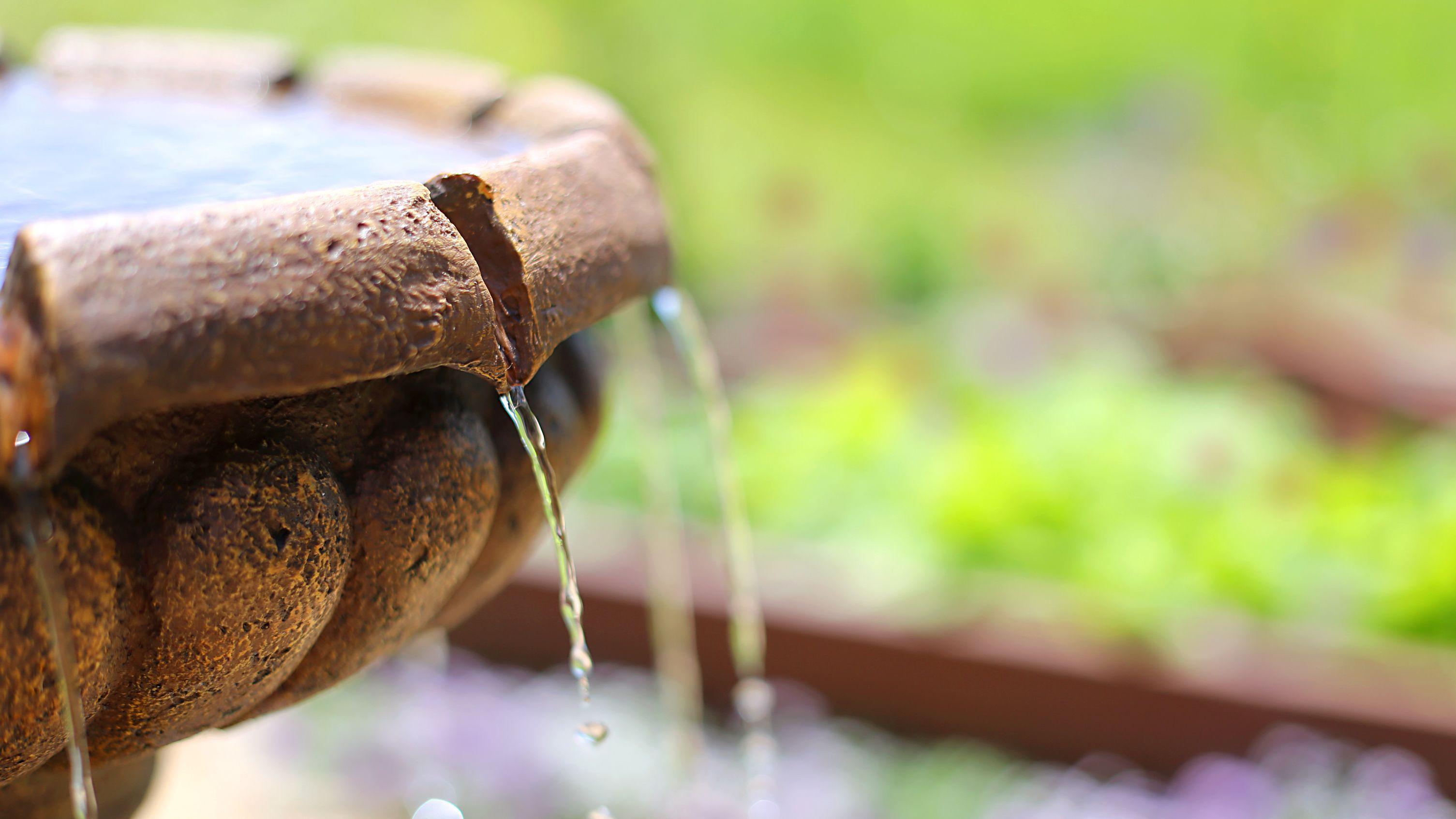 ¿Cómo elegir una fuente de jardín?