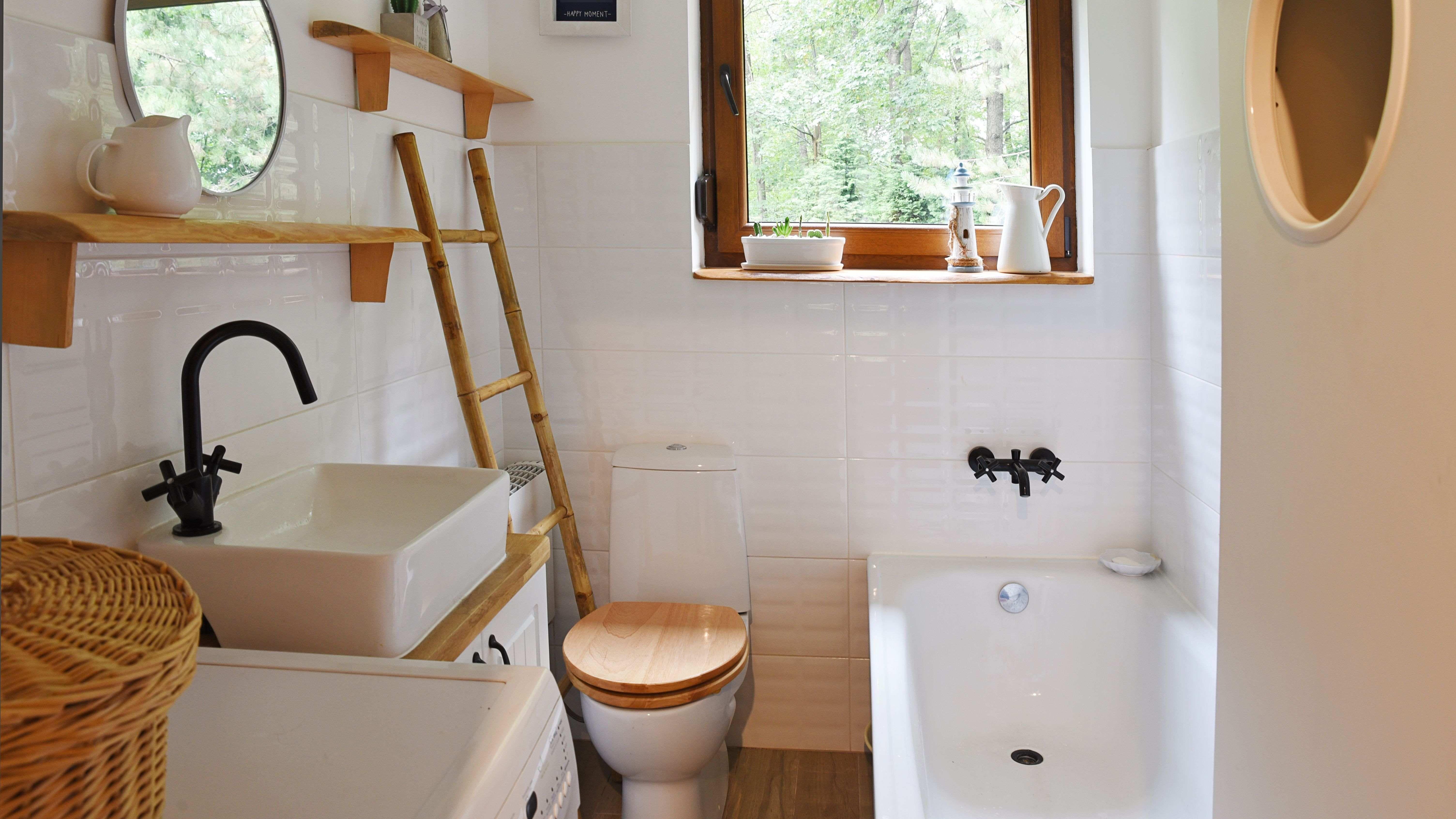 Cómo amueblar el cuarto de baño de un estudio
