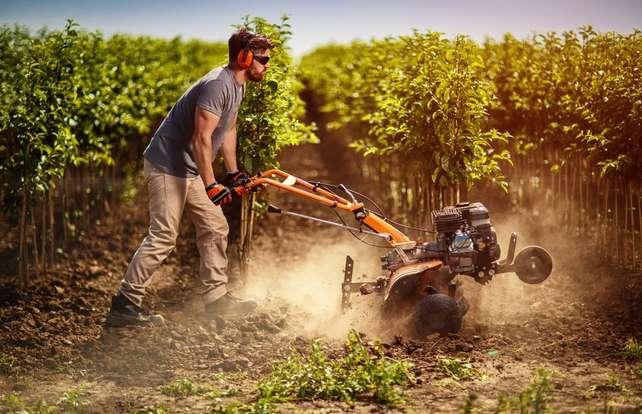 Cómo mantener las herramientas y maquinaria del huerto