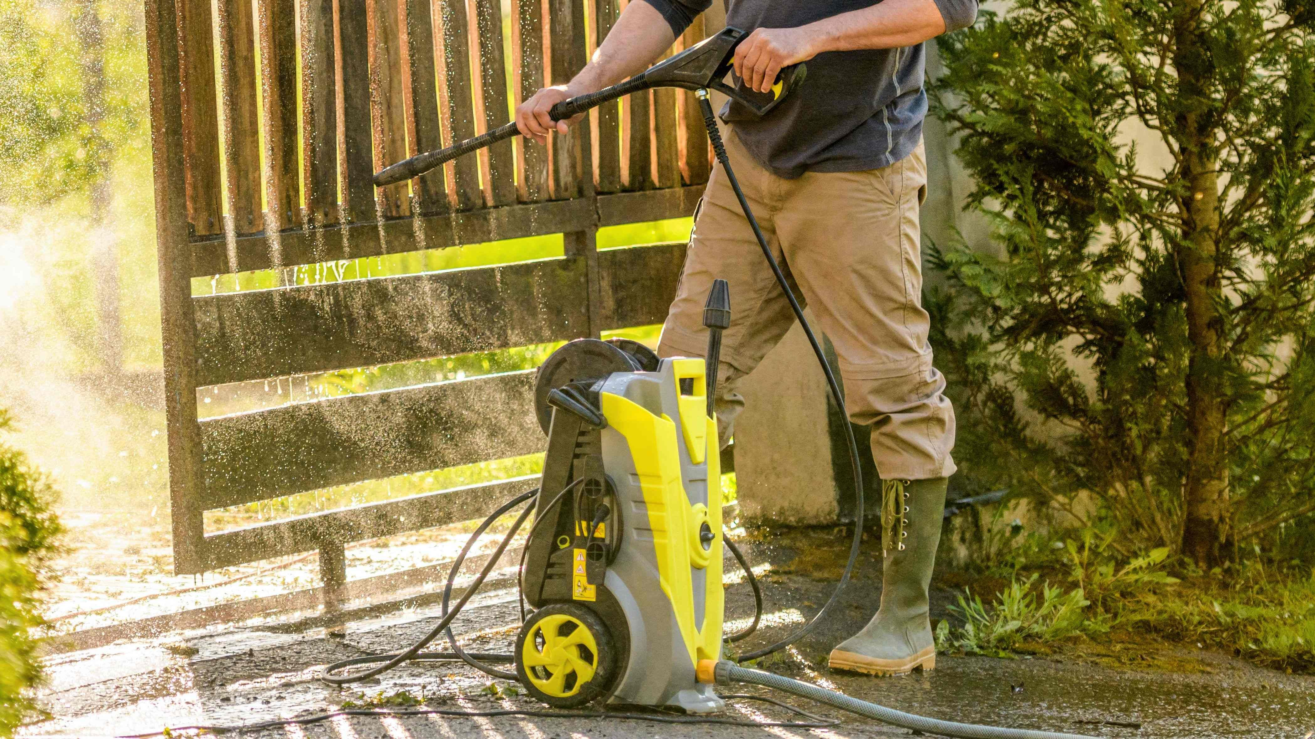 How to store your pressure washer