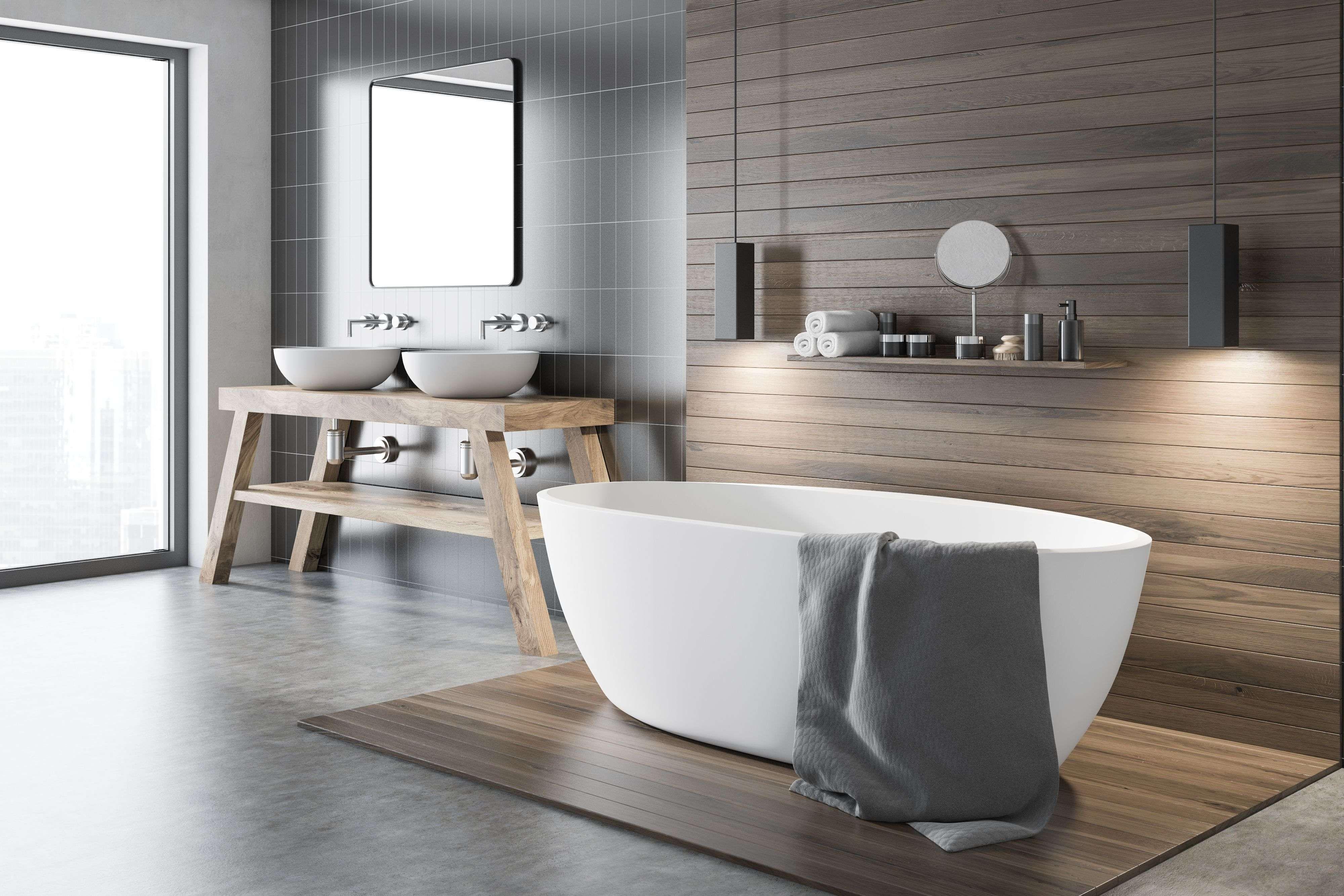 Salle de bains de luxe :  les codes d'une déco réussie