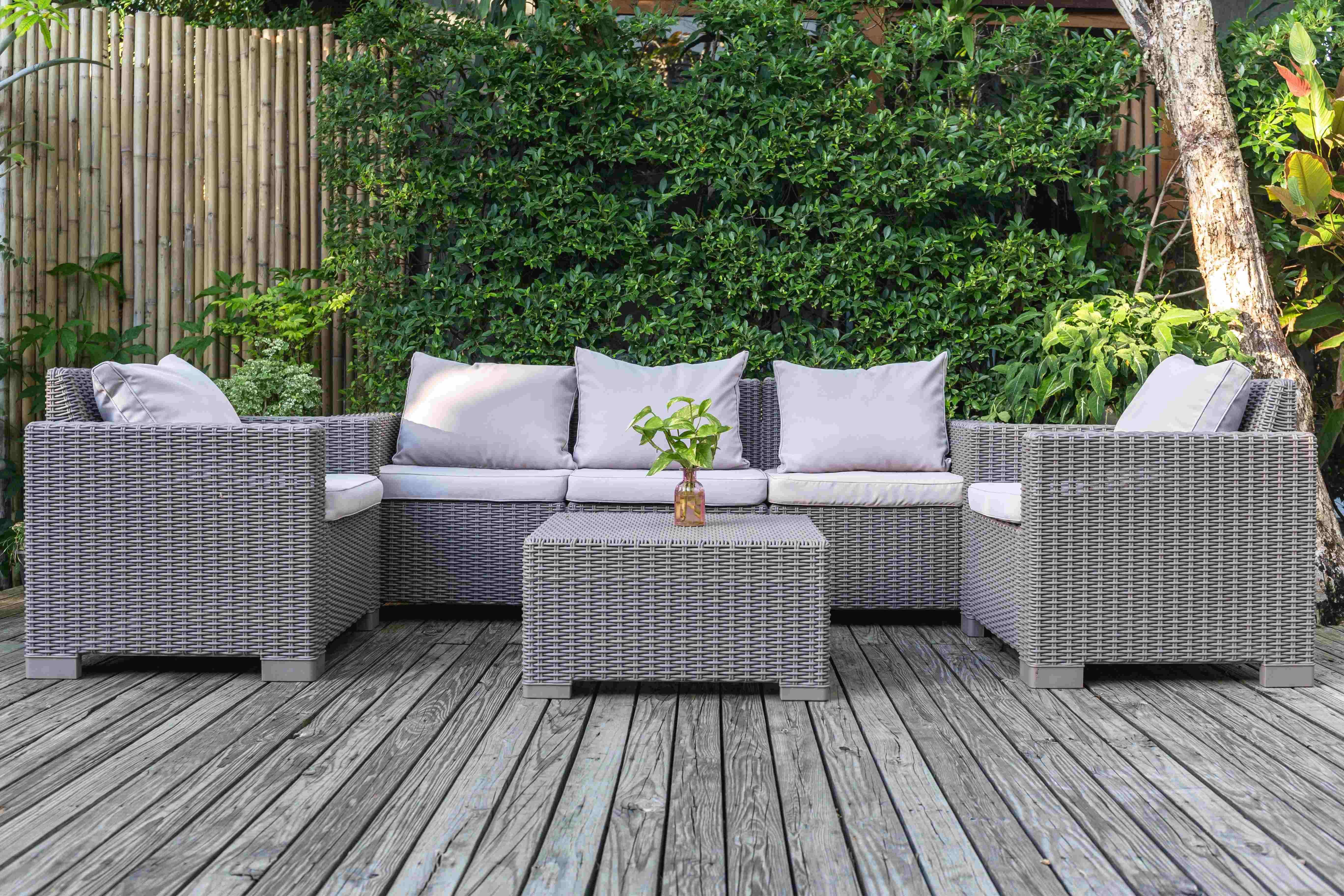 Cómo elegir muebles de jardín