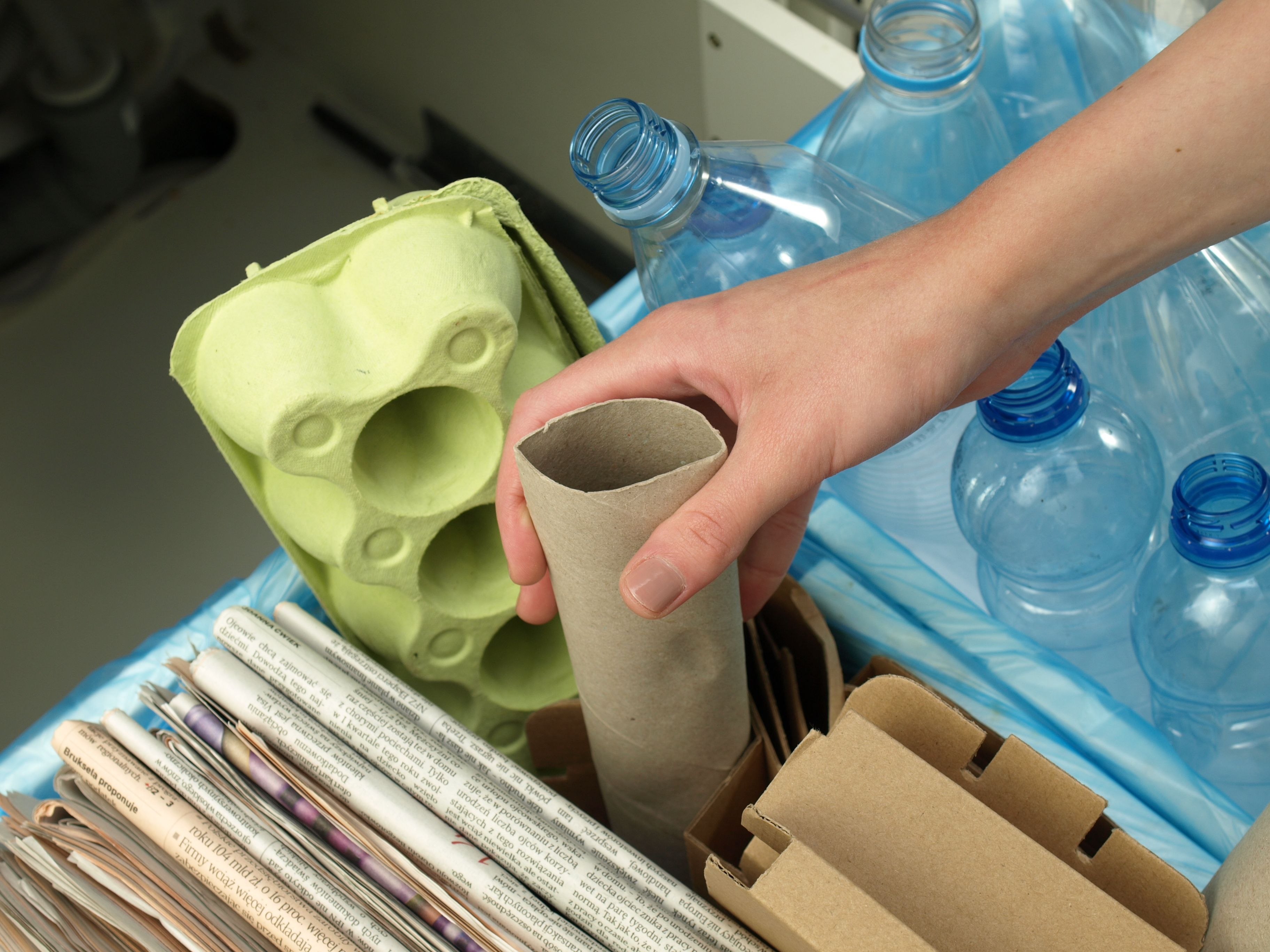 Come riciclare i rifiuti domestici