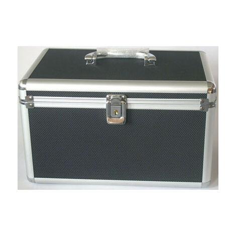 MediaRange Valise DJ pour 200 CD ou DVD, noire (BOX71)