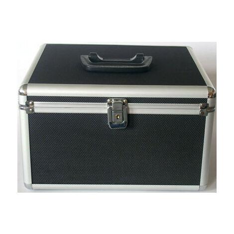 MediaRange Valise DJ pour 300 CD ou DVD, noire (BOX72)