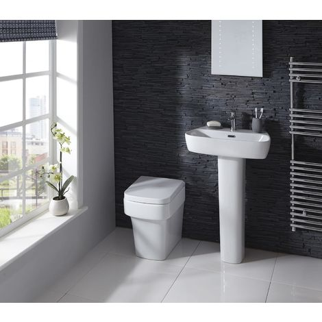 Medici Back to Wall Toilet with Soft Close Seat