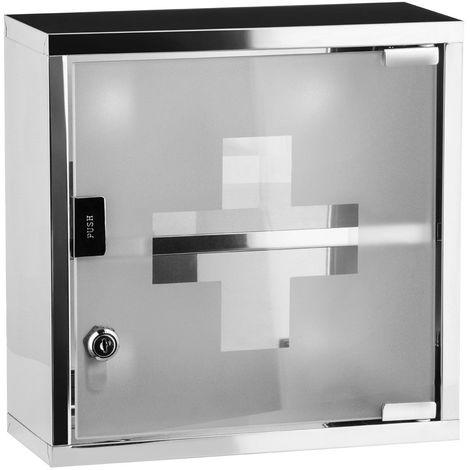 Medicine new Cabinet,Stainless Steel,Glass Door