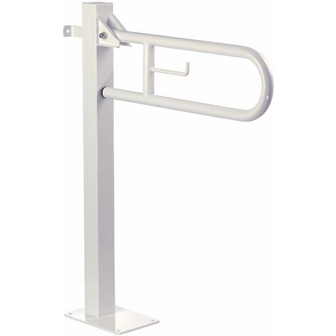 Mediclinics - Barra de apoyo abatible vertical con columna fija