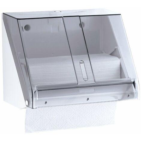 MEDICLINICS DT0518F Dispensador Papel Toalla Combi ABS