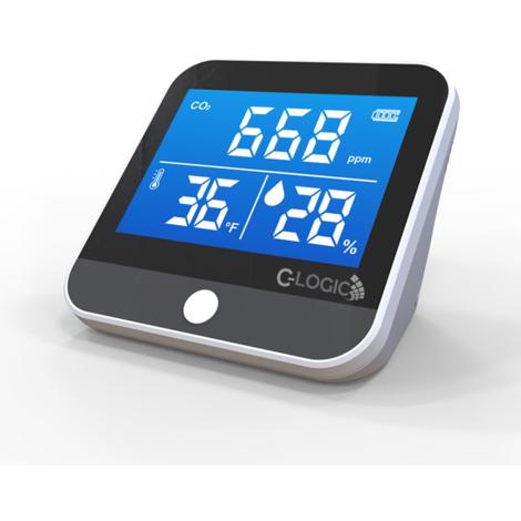 Medidor CO2 Monitor de Calidad del Aire Detector dióxido de Carbono , Temperatura y Humedad