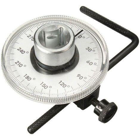Medidor de angulo 1/2'' goniometro para llave dinamométrica