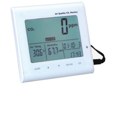 Medidor de calidad del aire co2 -temperatura-humedad st802