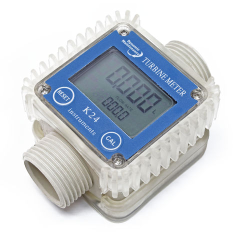 Medidor de caudal digital, contador para bomba de urea 10-100l/min, para trasvase y repostaje de