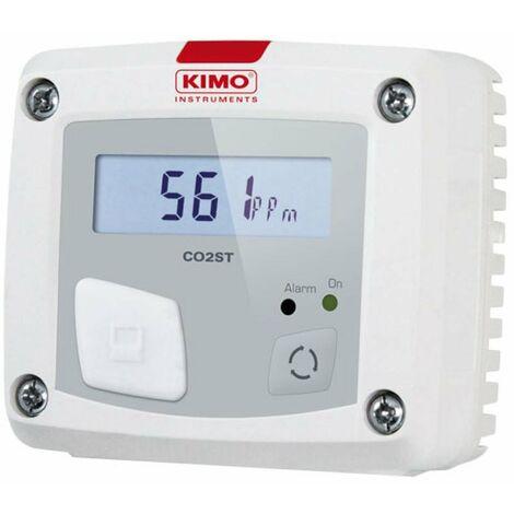 Medidor de CO2 con alarma acústica-visual con led de alarma CO2ST