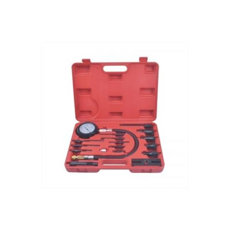Medidor de compresión/compresimetro para motores diesel de inyección directa e indirecta