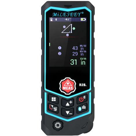 Medidor de distancia laser Bluetooth, control de aplicaciones, 40m