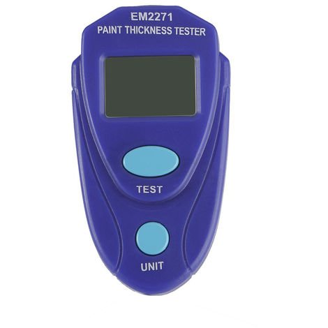 Medidor de espesor de pintura digital, Medicion de barniz de pintura de automovil,Azul