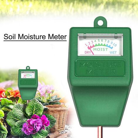 Medidor de humedad del suelo, medidor de humedad de planta de cabezal cuadrado de aguja unica
