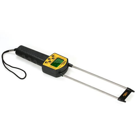 Medidor de humedad manual con sensor inteligente para frijoles de arroz en maiz y maiz