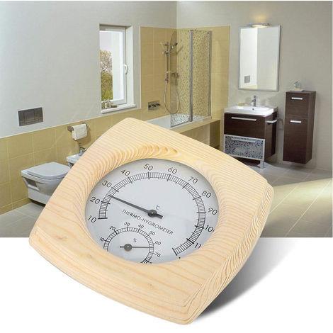 Medidor de humedad Temperatura de madera, mecanico de temperatura y metro de la humedad, Higrotermografo Termometro