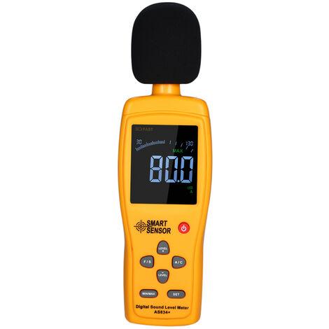 Medidor de nivel de sonido digital, medidor de ruido, volumen de ruido de 30-130dB