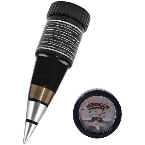 Medidor de pH del suelo Medidor de humedad del suelo Probador de pH 2 en 1 Probador de suelo para jard¨ªn, granja, c¨¦sped, interior, exterior, cuidado de plantas