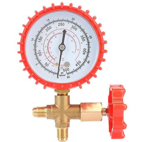 Medidor de presion de recarga de refrigerante de aire acondicionado