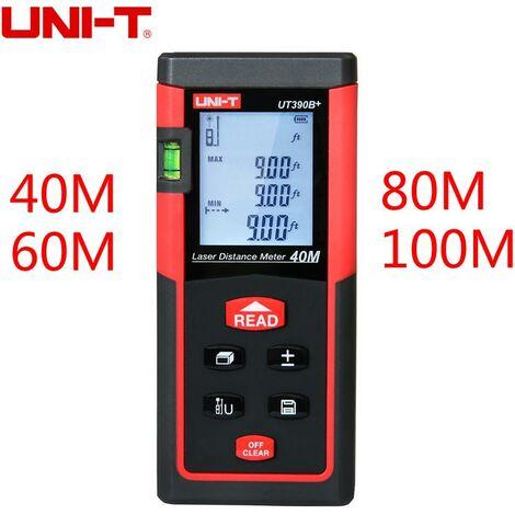 Medidor Distancias Laser 40 metros UNI-T UT-390B+