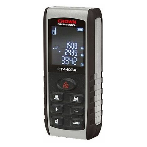 Medidor de distancias digital 0,55 mm /– 15 m Silverline 650926