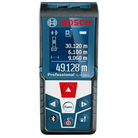 Medidor laser distancias hasta 50mt c/conec glm 50 c bosch