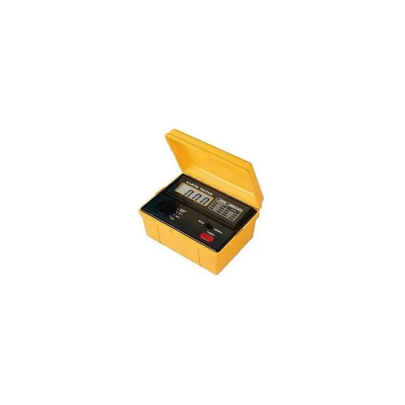 Pce Instruments - Medidor para comprobar tomas de tierra en casas y edificios PCE-ET 3000