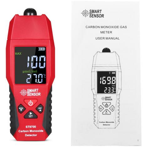 Medidor port¨¢til de monoxido de carbono Smart Sensor St9700